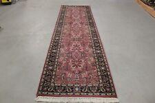 Wunderschöner handgeknüpfter Läufer Teppich 315 x 87 cm