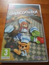 Overcooked Special Edition NINTENDO SWITCH Game Excellent Condition