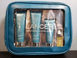 Lancer The Method Intro Kit Normal-Combination Skin NEW Polish Cleanse Nourish