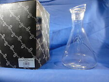 New in Box Manhattan 518/860 Bottiglia Rolling Decanter By Ichendorf Milano