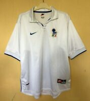 ITALY NATIONAL 19971998 AWAY FOOTBALL JERSEY  CALCIO MAGLIA SHIRT VINTAGE