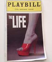 Playbill The Life 1997 Sam Harris Ethel Barrymore Theatre Broadway