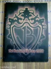 Jonas Brothers Concert Program 2008 Burning Up Tour Joe Nick Kevin