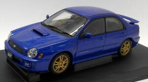 Autoart 1/18 Scale Diecast - 78642 Subaru New Age Impreza WRX STi Blue