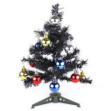 Artificial Christmas Tree Xmas Traditional Indoor Decoration Table Top Desk 30cm