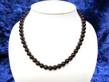 Granate Echtschmuck-Halsketten & -Anhänger aus Feinsilber für Damen