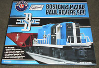 LIONEL #6-81021 BOSTON & MAINE PAUL REVERE SET ORIGINAL BOX ONLY NO TRAINS