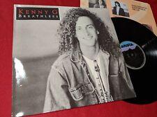 KENNY G Breathless LP 1992 Arista SPAIN *SPANISH EDITION*