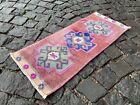 Home decor, Small rug, Doormats, Vintage rug, Turkish rug, Kitchen | 1,0 x 2,5 f