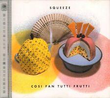 Squeeze - Cosi Fan Tutti Frutti - Squeeze CD ECVG The Fast Free Shipping
