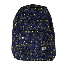 Loungefly Pokemon Pikachu Expressions Backpack NEW Bag School
