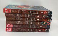 Tokyopop KING OF HELL Manga Ra In-Soo Kim Jae-Hwan Manga 1-6 Set Lot