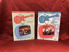 The Monkees: Season 1 & 2 (DVD) RARE OOP VGC L🔴🔴K 🔥🔥