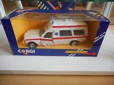 Corgi Mercedes Bonna Ambulance in White in box