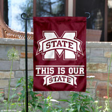 Msu Bulldogs This is Our State Garden Flag