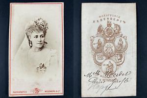 Nordet, actrice et chanteuse à l'Opéra Comique, dans Giroflé Vintage cdv al