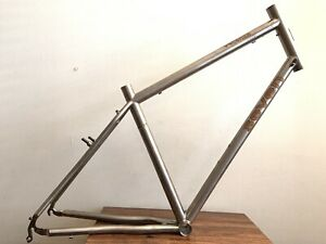 Seven Cycles 700c Titanium Frame Touring Bike Made in USA
