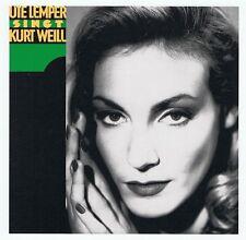 Ute Lemper - Singt Kurt Weill - CD NEU