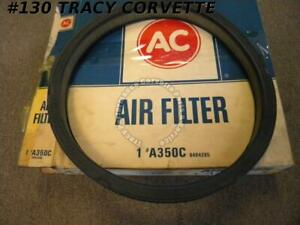 1960-1962 Corvette A350C Air Filter GM#6484295 Yellow Paper 1965-1967 GTO Buick