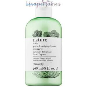 Philosophy Nature In A Jar Gentle Detoxifying Cleanser With Agave 8oz / 240ml