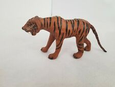 Vintage Leather Wrapped Tiger Mammal Figure Statue home decor animal print