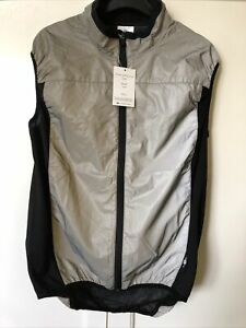 BTR Running/ Cycling Reflective Gilet - Silver- Size Small - BNWT