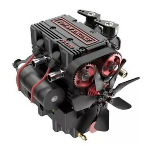 TOYAN FS-L 200 2 Cylinder Four Stroke Nitro Engine Assembly Kit model RC Gift