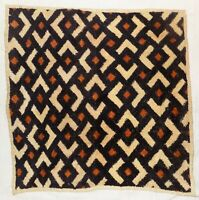 African Kuba cloth Velvet bakuba raffia Africa kv356