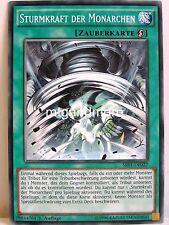 YU-GI-OH - 1x tempesta forza delle monarca-sr01-Structure Deck Emperor of Dark