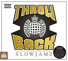 THROWBACK SLOWJAMZ (Ministry of Sound) 3 CD SET (2016)