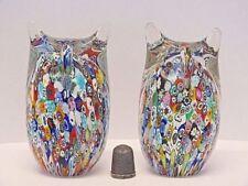Italian Art Glass Multi Filigree/Canework