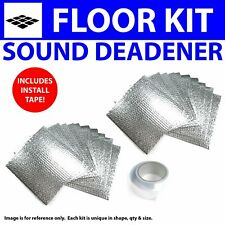 Heat & Sound Deadener Ford Mustang 1967 - 1970 Floor Kit + Seam Tape 30510Cm2