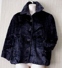 GFF GIANFRANCO FERRE Wool Blend Gray Peacoat Women Jacket Size Italy:40 EXCELENT