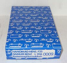 D146 W.Fröwis 0009 Hanomag-Henschel F25 / Daimler Benz L 206 Bausatz 1:87