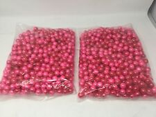 Red/Dark Red .68 Caliber Paintballs Yellow Paint Fill New In Bag 1000 / Order!