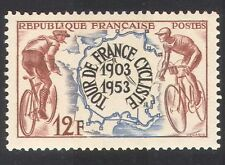 FRANCIA 1953 Ciclismo/Sport/Moto/TOUR DE FRANCE/RACING/Mappe 1v (n33317)