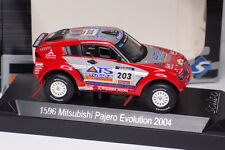 SOLIDO MITSUBISHI PAJERO EVOLUTION 2004 #203 1/43