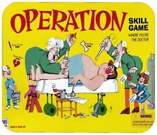 OPERATION MOUSE PAD 1/4 IN. BOARD GAME MOUSEPAD