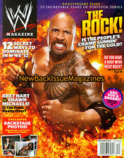 WWE 12/11,The Rock,December 2011,NEW
