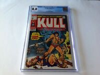 KULL THE CONQUEROR 1 CGC 8.0 WHITE PAGES ORIGIN AND 2ND APPEARANCE MARVEL COMICS