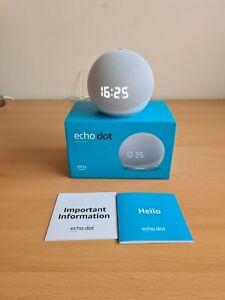 Amazon Echo Dot (4th Generation) Smart Speaker with clock and alexa. Brand new.