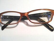 New XOXO STANDOUT Peach/ Black Eyeglasses   52-16-135 mm