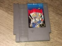 RoboWarrior Nintendo Nes Cleaned & Tested Authentic