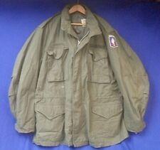 New ListingVietnam War Us Army M65 Field Jacket, 173rd Airborne Brigade, Size Large/Long