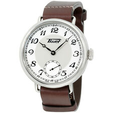 Tissot Heritage White Dial Leather Strap Men's Watch T1044051601200