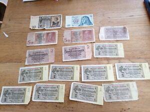Billet  Reichsmark Viele Banknote un de 1939 20 reichsmark allemagne