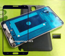 For Samsung Galaxy Note 3 N900 N9005 N900A Housing Case Cover+Outer screen Galss