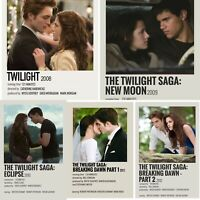 Twilight Movie Series 5 Photos Photocard Prints Robert Pattinson Kristen Stewart