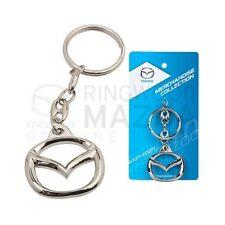 New Genuine Mazda - Mazda Logo Emblem Keyring Merchandise Gift Accessory 128.709