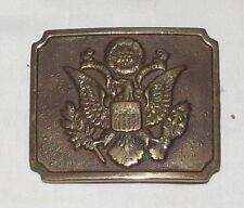 American Crest Copper-coloured Belt Buckle Vintage